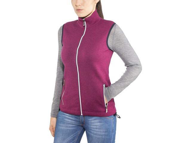Ivanhoe of Sweden Flisan Vest Women pink